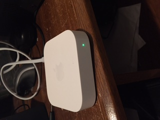 how to connect airport express to receiver